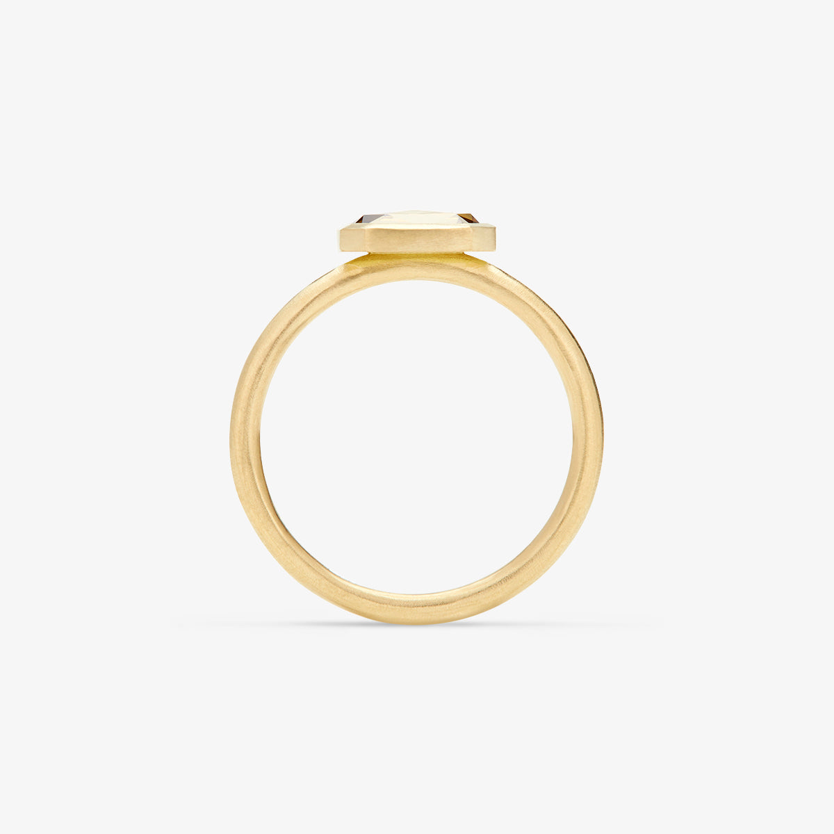 18K Yellow Gold - on 2