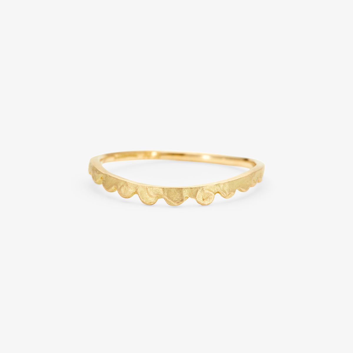 18K Yellow Gold (Matte)