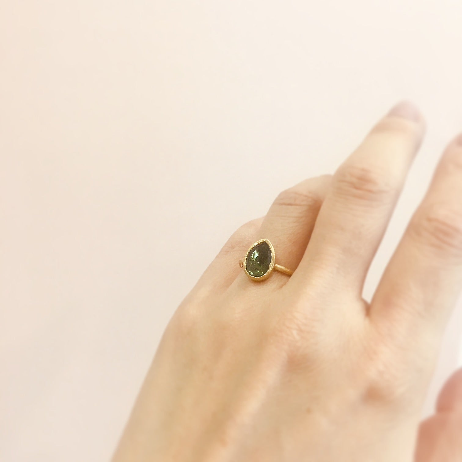 18K Yellow Gold - on