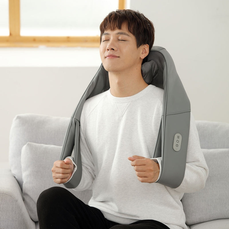 Lfwellness Shiatsu Massager 3D Kneading Pillow