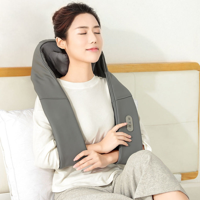 Lefan Shiatsu Massager 3D Kneading Pillow
