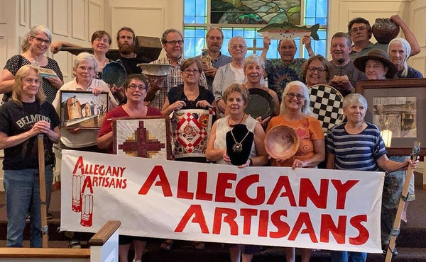 Walker Metalsmiths Will Once Again be Part of the Allegany Artisans Tour This October