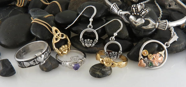Walker Metalsmiths Celtic Jewelry Features Hand-Crafted Celtic Crosses and Claddagh Jewelry at our Family Owned Store