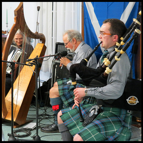 Awesome piping at the Andover Robert Burns Supper
