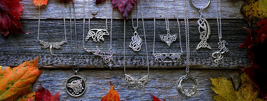 Walker Metalsmiths is Featuring Handcrafted Celtic Animal Jewelry this holiday season