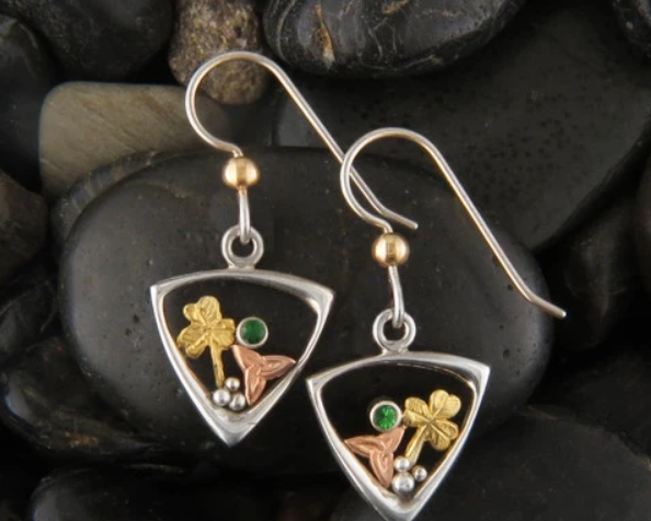 The Celtic Origins of St Patrick's Day Are Symbolized Through Jewelry