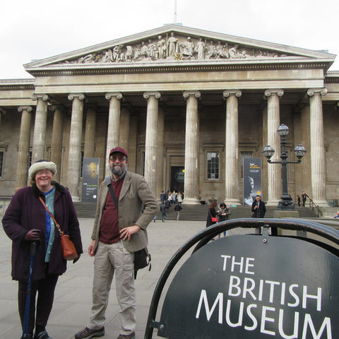 Steve Walker at the British Museum
