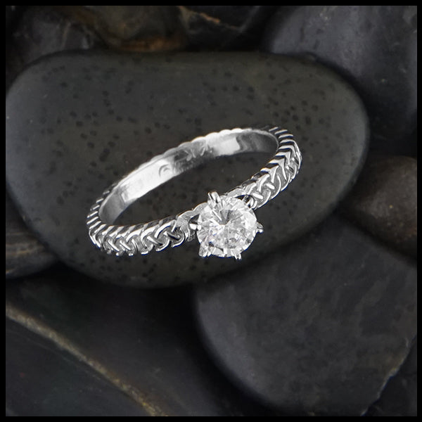 Josephine's Knot Diamond Ring