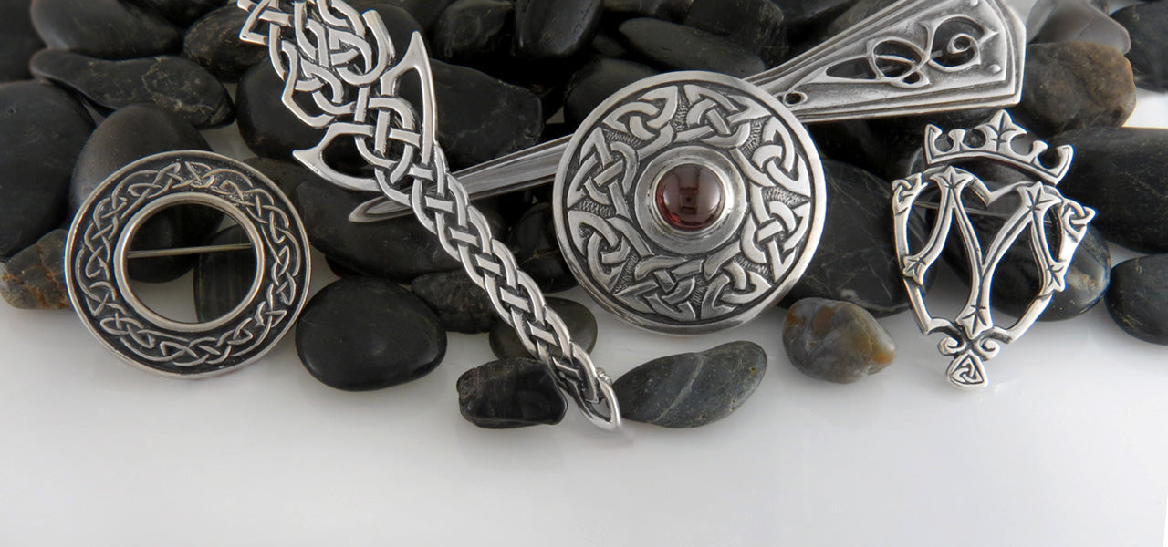 Celtic Brooches & Pins in Sterling Silver | Walker Metalsmiths