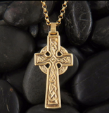 handcrafted St Patricks Celtic Cross