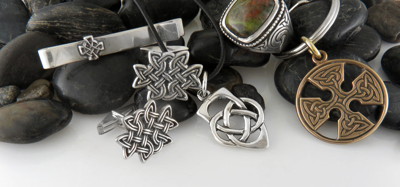 Mens Celtic Jewelry Walker Metalsmiths Celtic Jewelry