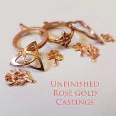 Rose Gold Castings