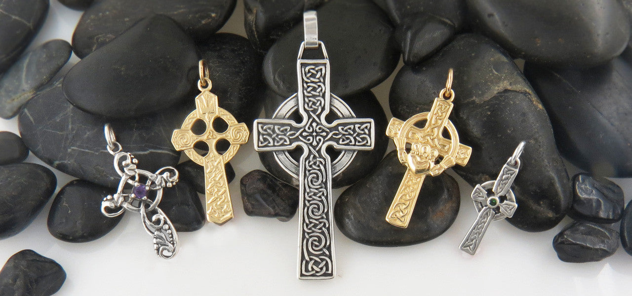 Celtic cross jewelry in sterling silver and gold walker the ringed irish and scottish cross has been a distinctively celtic symbol since ancient time in scotland ireland wales and those parts of britain that aloadofball Images
