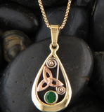hand crafted triquetra Celtic jewelry