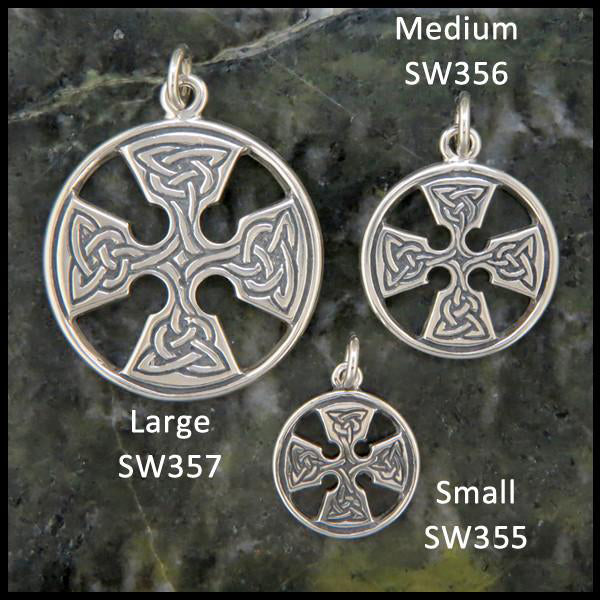 Medallion Cross Pendants