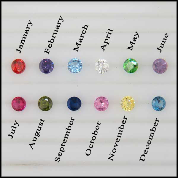 Gemstones to select from