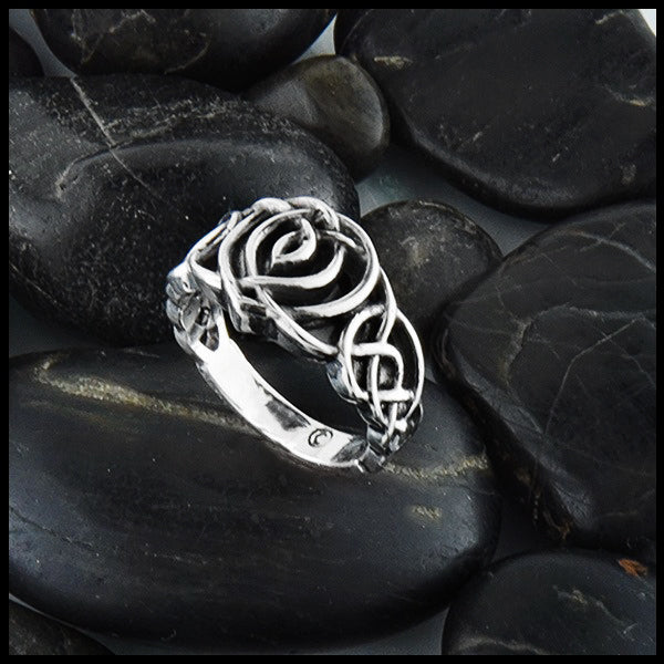 Kathleens Heart Knot Ring by Walker Metalsmiths