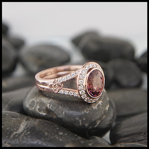 Malaya Garnet Starlight Ring