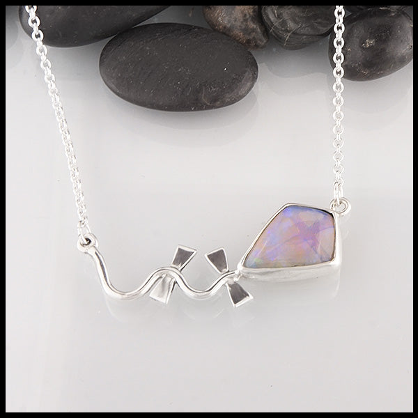 opal kite pendant by Walker Metalsmiths