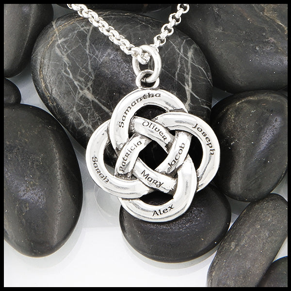 Large Personalized Josephine's Knot