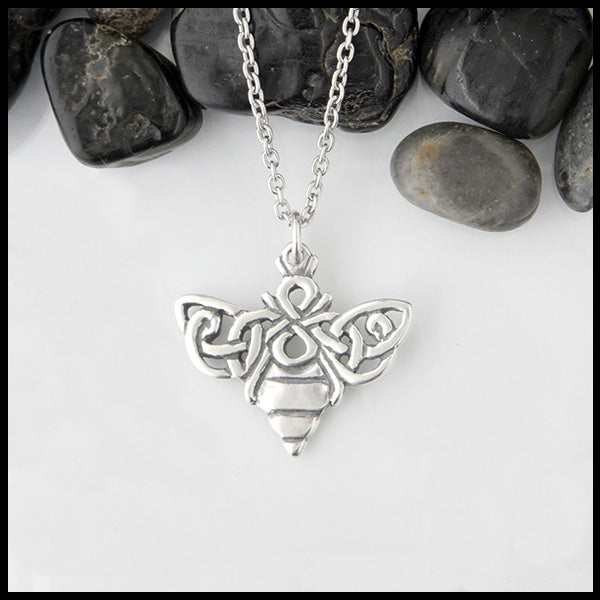 Celtic Bee Pendant