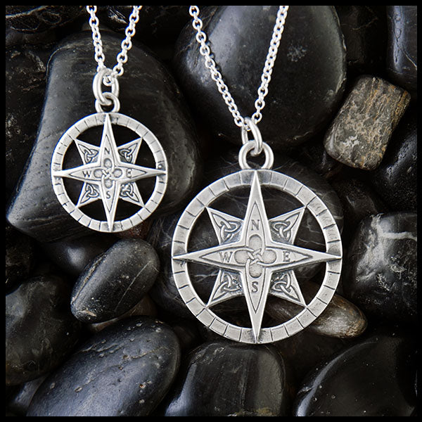 Celtic Compass by Walker Metalsmiths