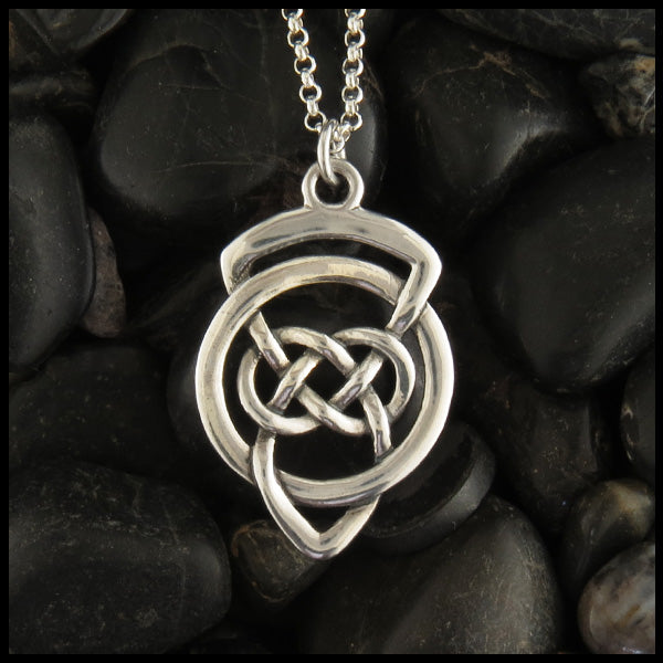 Grandfather's Celtic Knot Pendant in Sterling silver