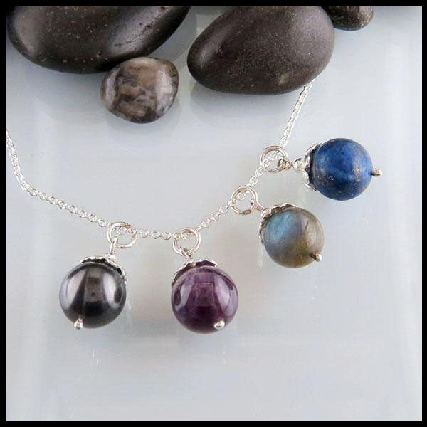 Gemstone Bead Pendant