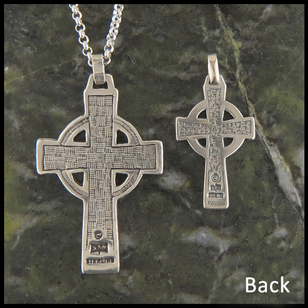 Traditional Celtic Cross in Sterling Silver