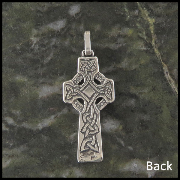 Sterling Silver Inis Celtic Cross Pendant