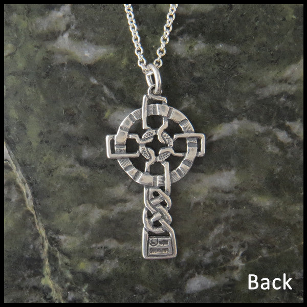 Unique Celtic Cross in Sterling Silver from Walker Metalsmiths
