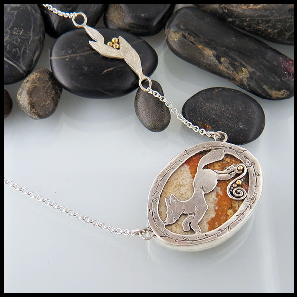 Picture Jasper Fox Pendant