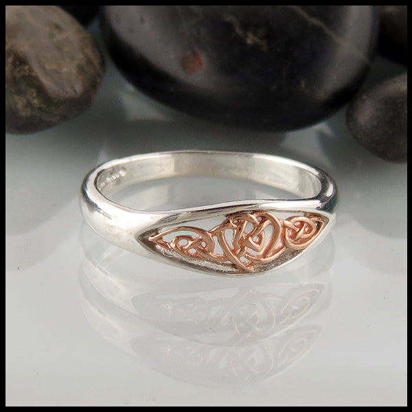 Brianna's Celtic Heart Ring