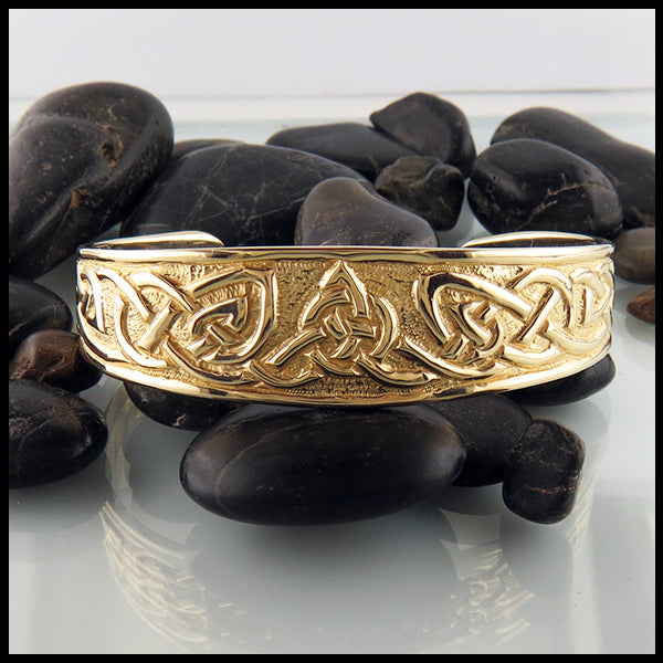 Gold Celtic Bracelet
