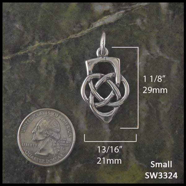 Sterling silver Pendant for fathers