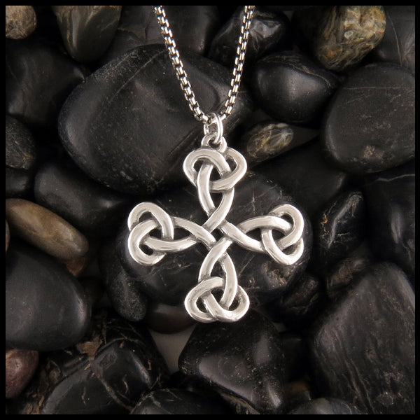 Medallion Celtic Cross by Walker Metalsmiths