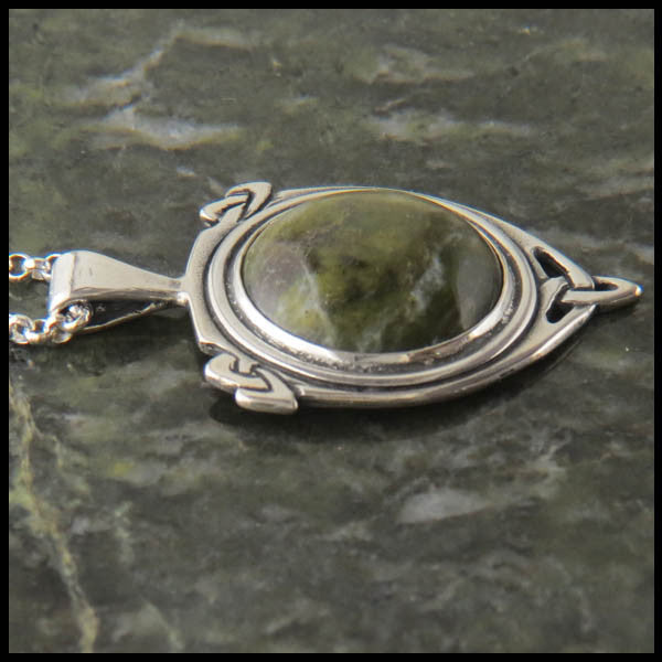 Marble Celtic pendant in Sterling Silver
