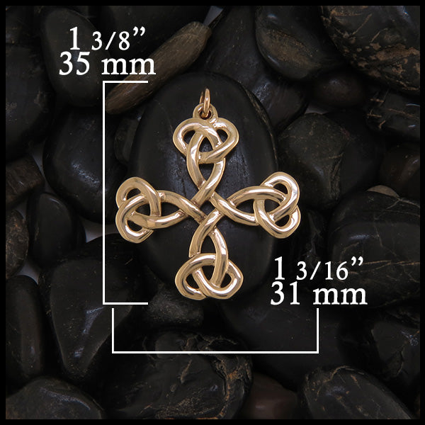 Celtic Cross pendant set