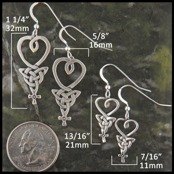 An Teor earrings in Sterling Silver