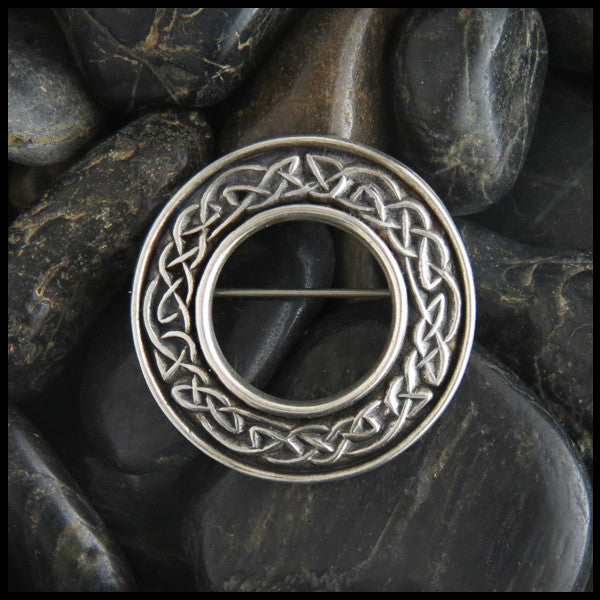 Sterling Silver Celtic Knot Brooch