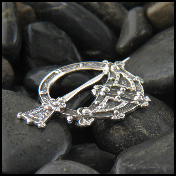 Tara Brooch in Sterling Silver