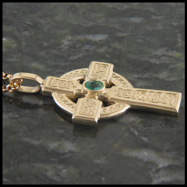 Willis Clan Cross in 14K Gold