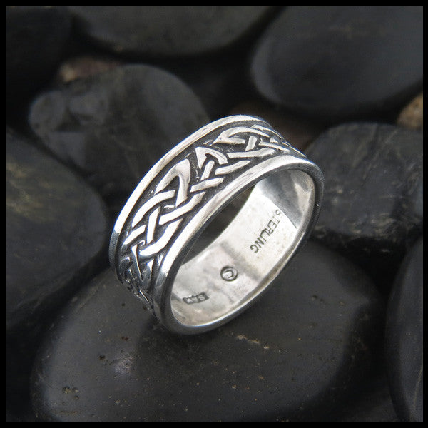 Celtic Rings in Sterling Silver and 14K Gold Walker Metalsmiths