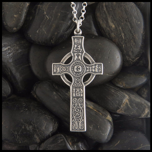 Sterling silver scottish kildalton cross pendant walker sterling silver scottish kildalton cross pendant walker metalsmiths celtic jewelry aloadofball Images