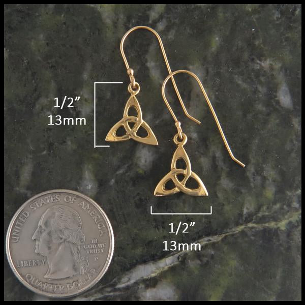 Trinity Threader Earrings