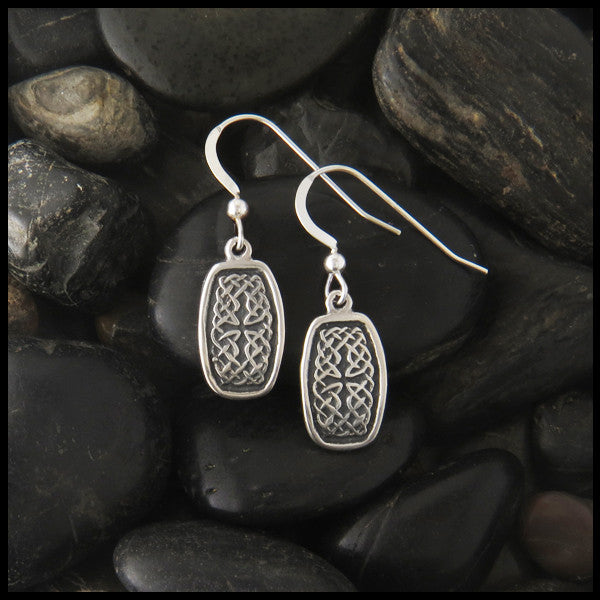 a6ea25239 Celtic Earrings in Sterling Silver | Walker Metalsmiths