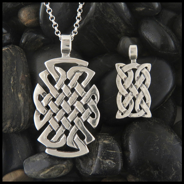 St. Andrew Knot pendant in Sterling Silver