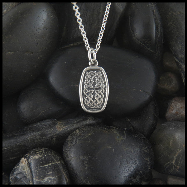 Sterling silver celtic pendant walker metalsmiths celtic jewelry celtic knot pendant in sterling silver mozeypictures Choice Image