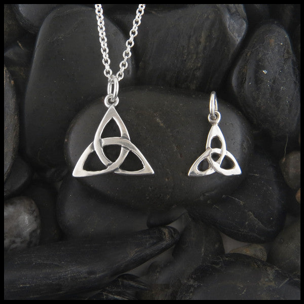 Trinity Knot pendant in Sterling Silver