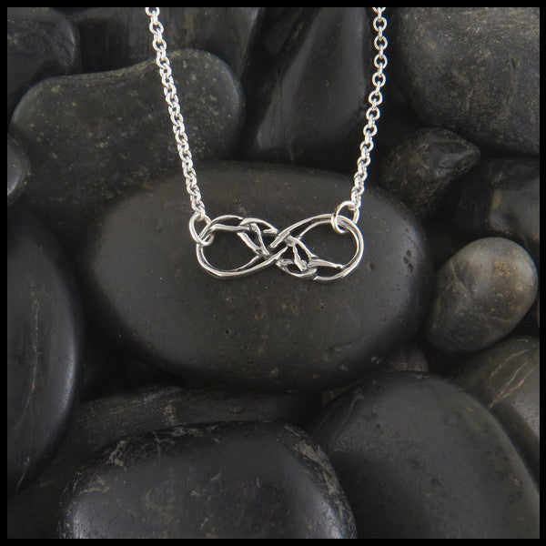 Infinity Knot pendant in Sterling Silver